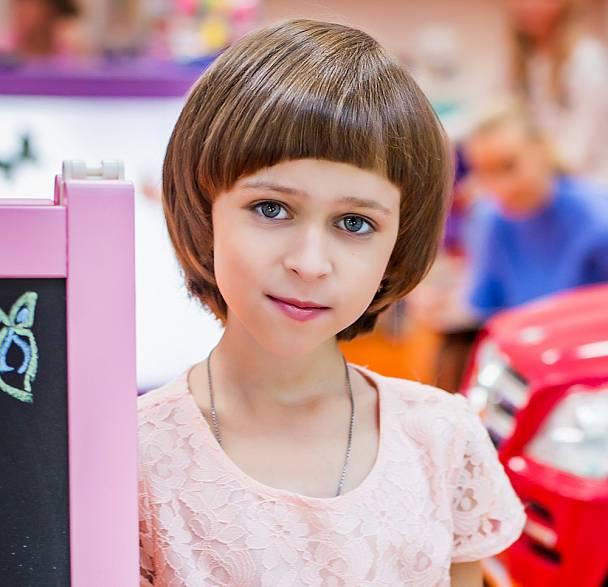 Прическа для девочки челябинск
